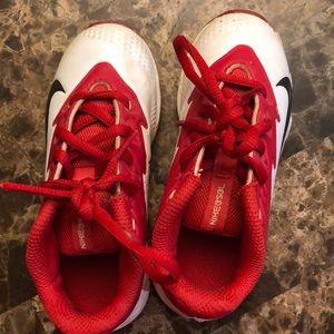 Kids t-ball/ baseball shoes